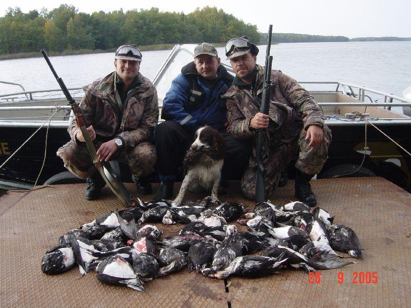охота и рыболов места